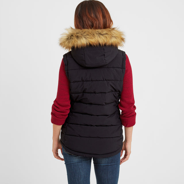Cowling Womens Insulated Gilet - Black image 2