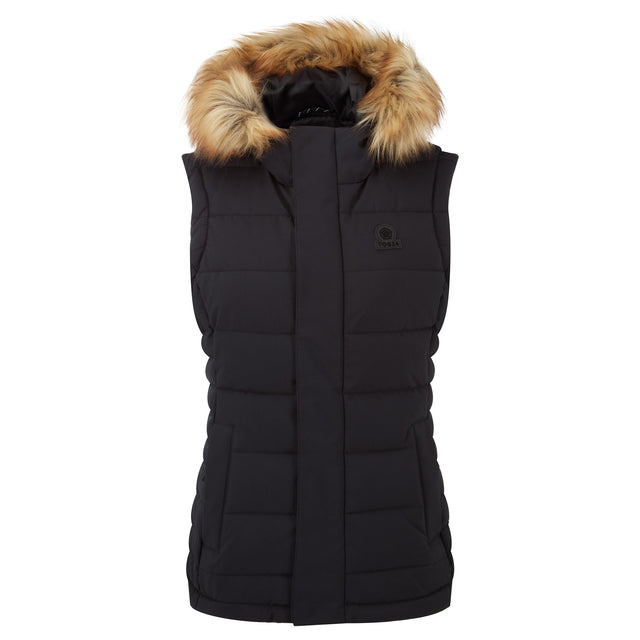 Cowling Womens Insulated Gilet - Black image 3