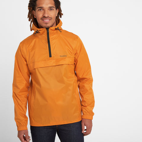 Craven Mens Waterproof Packaway Overhead - Satsuma