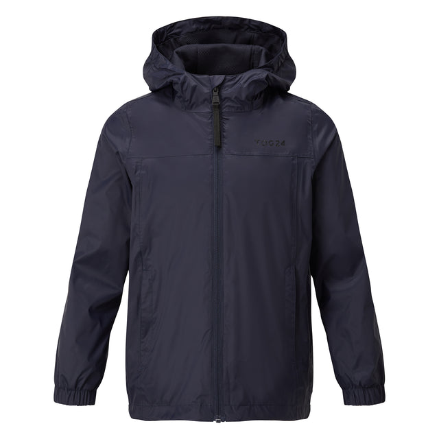 Craven Kids Waterproof Packaway Jacket - Navy