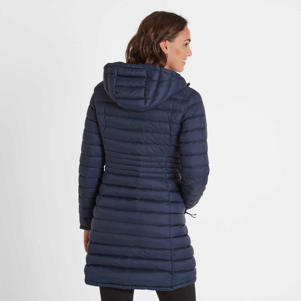 Denby Womens Down Jacket - Dark Indigo image 4