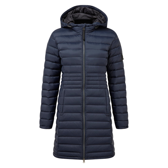 Denby Womens Down Jacket - Dark Indigo image 6