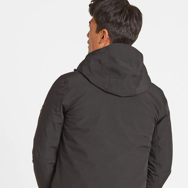 Denton Mens Waterproof 3-in-1 Jacket - Black image 5