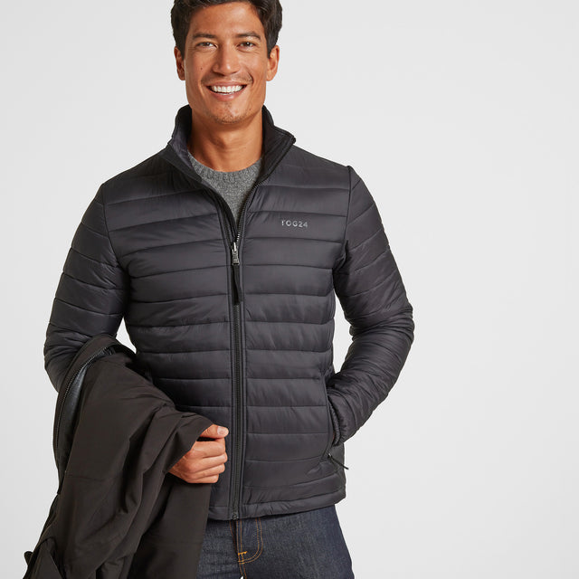 Denton Mens Waterproof 3-in-1 Jacket - Black image 3