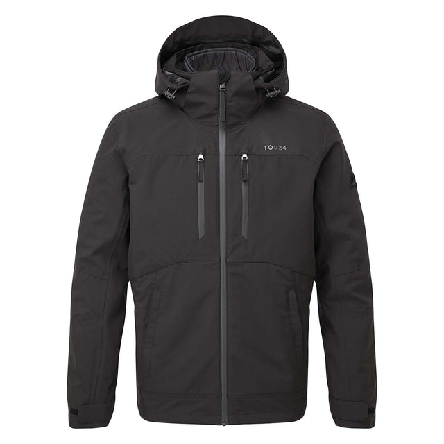 Denton Mens Waterproof 3-in-1 Jacket - Black image 6