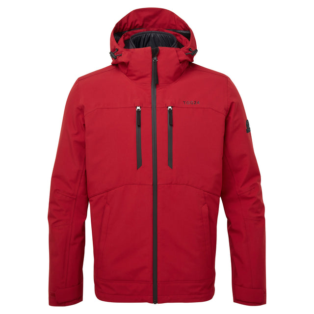Denton Mens Waterproof 3-In-1 Jacket - Chilli Red image 6