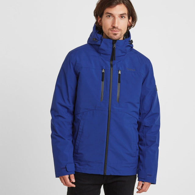 Denton Mens Waterproof 3-in-1 Jacket - Royal Blue image 1