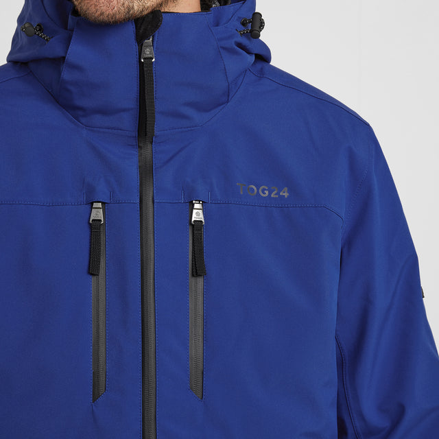 Denton Mens Waterproof 3-in-1 Jacket - Royal Blue image 6
