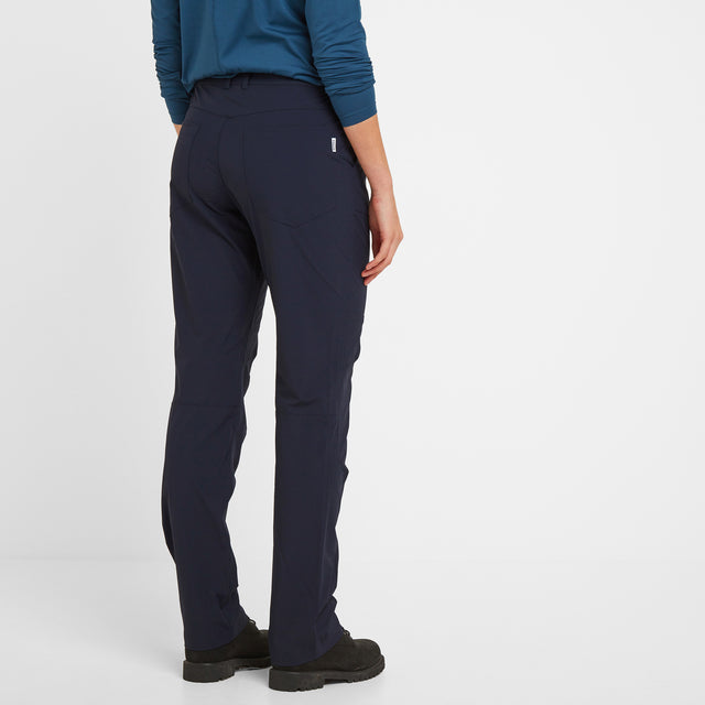 Denver Womens Trousers Long - Navy image 2