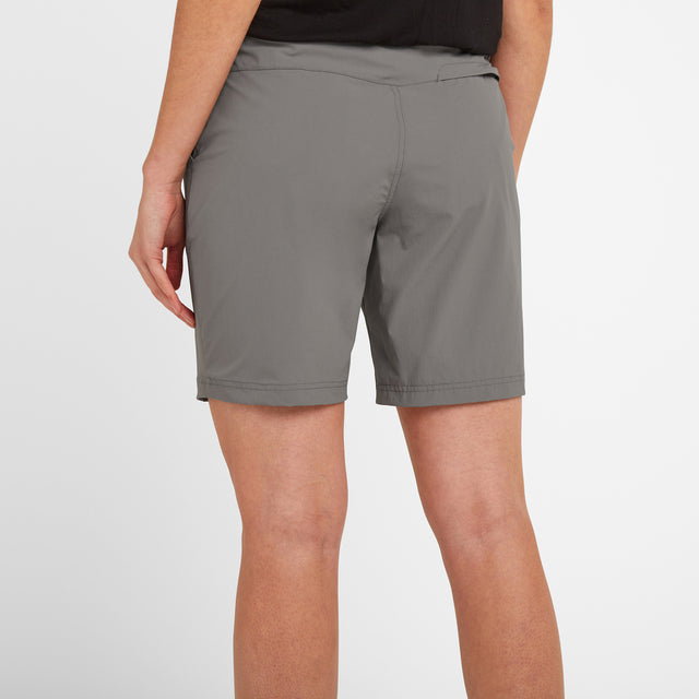 Denver Womens Shorts - Light Grey image 3