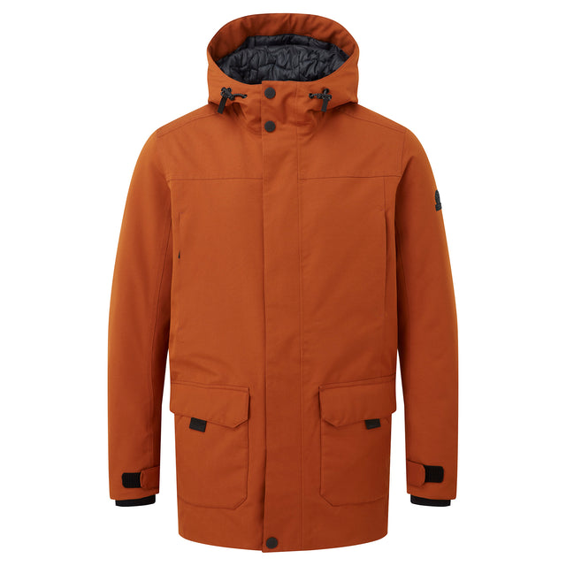 Dight Mens Waterproof Parka - Amber image 6