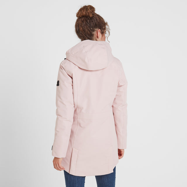 Dight Womens Waterproof Parka - Rose Pink image 3