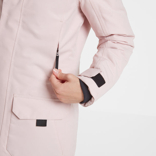 Dight Womens Waterproof Parka - Rose Pink image 5