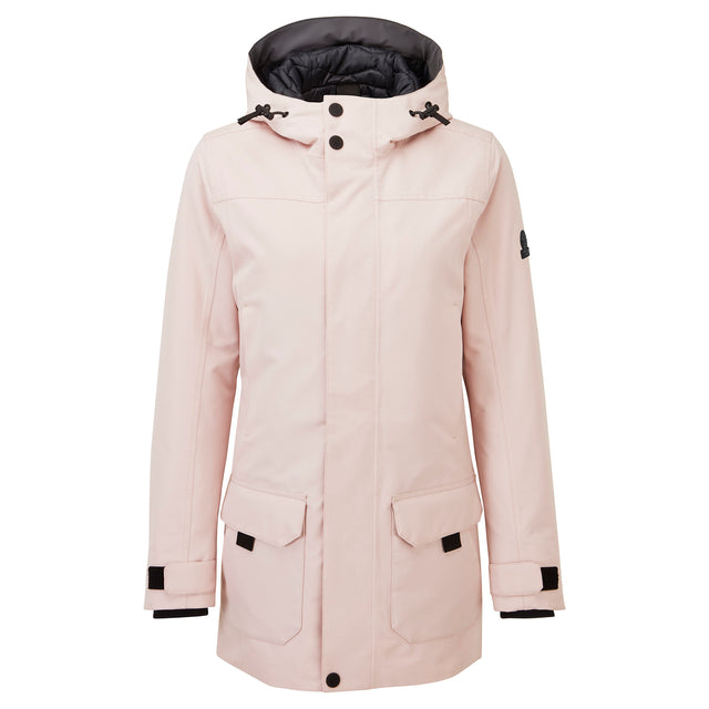 Dight Womens Waterproof Parka - Rose Pink image 6
