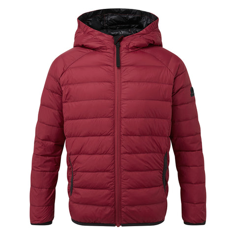 Dowles Kids Hooded Down Jacket - Rumba