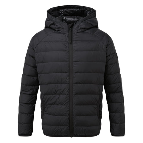 Dowles Kids Hooded Down Jacket - Black