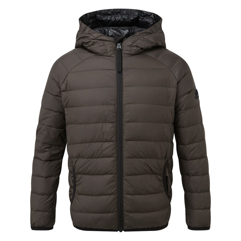 Dowles Kids Hooded Down Jacket - Khaki