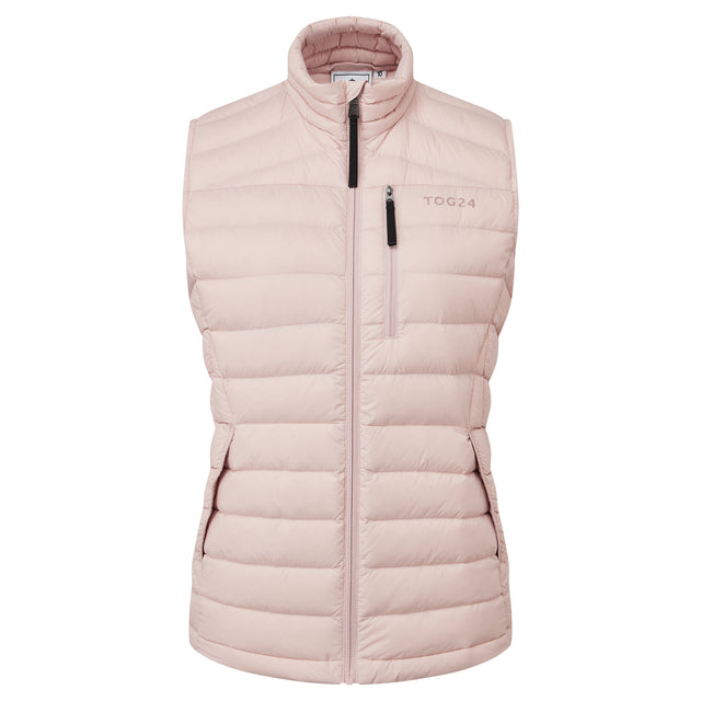 Drax Womens Down Gilet - Rose Pink image 3
