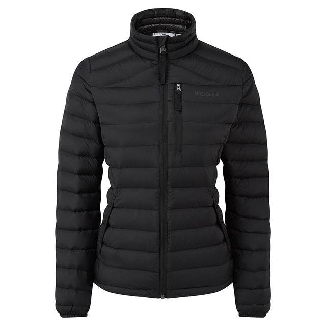 Base Womens Funnel Down Jacket - Coal Grey image 6