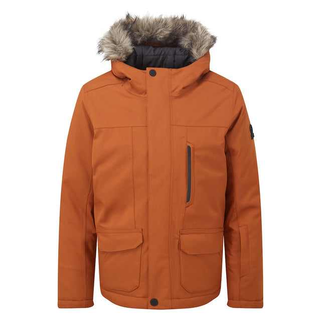 Duggan Kids Waterproof Jacket - Pumpkin