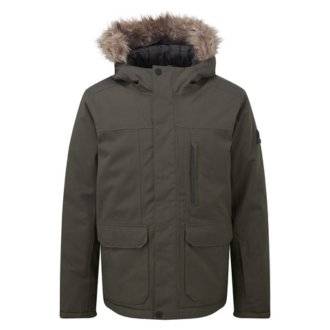 Duggan Kids Waterproof Jacket - Khaki
