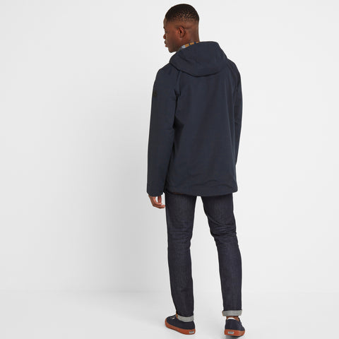 Dunsel Mens Waterproof Jacket - Dark Indigo
