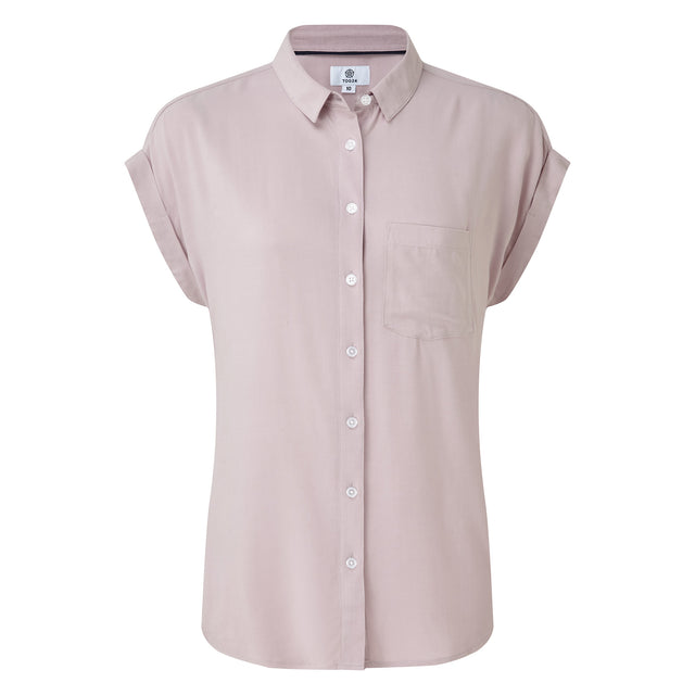 Earley Womens Shirt - Chalk Pink image 3