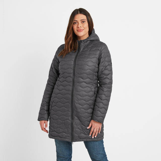 Eastby Womens Thermal Jacket - Grey Marl image 6