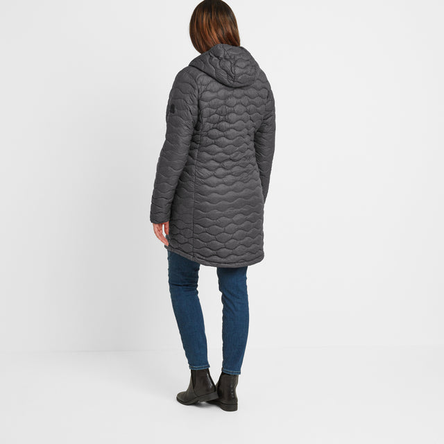 Eastby Womens Thermal Jacket - Grey Marl image 7