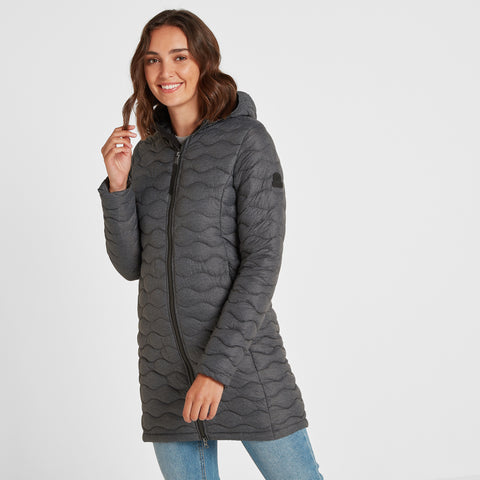 Eastby Womens Thermal Jacket - Grey Marl
