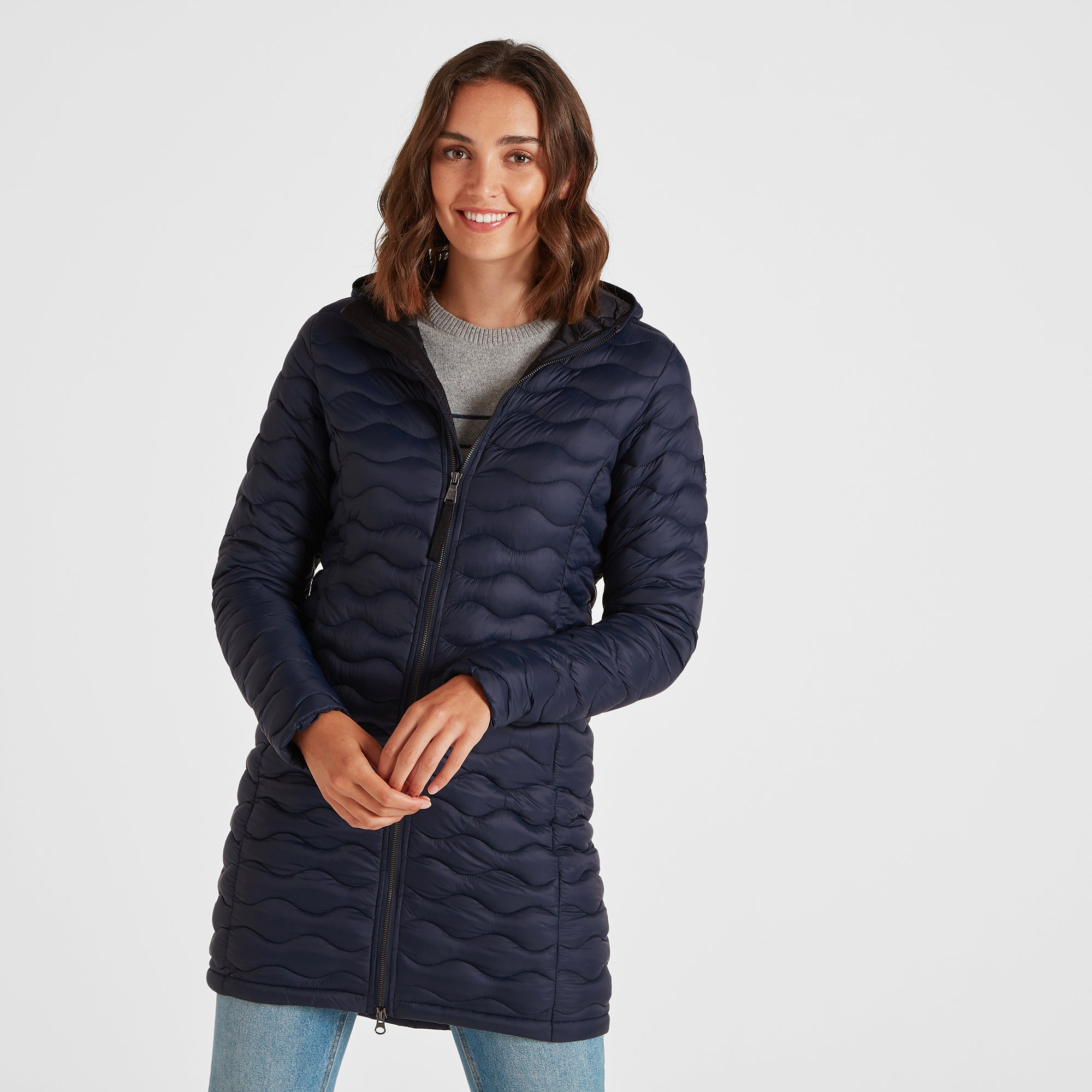 Eastby Womens Thermal Jacket - Dark Indigo