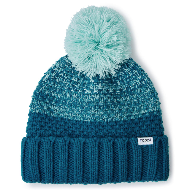 Elcot Knit Hat - Pacific Blue image 2