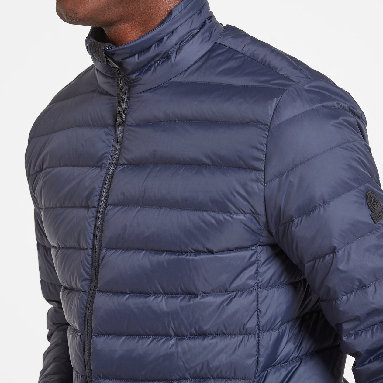 Elite Mens Down Jacket - Navy image 4