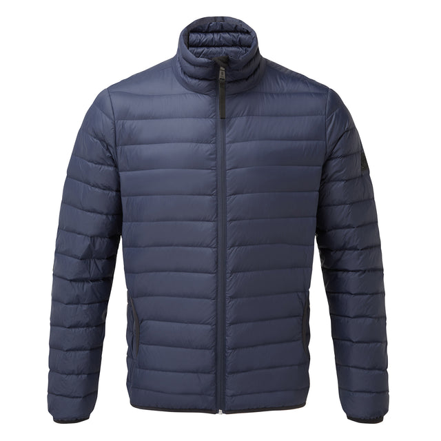 Elite Mens Down Jacket - Navy image 6