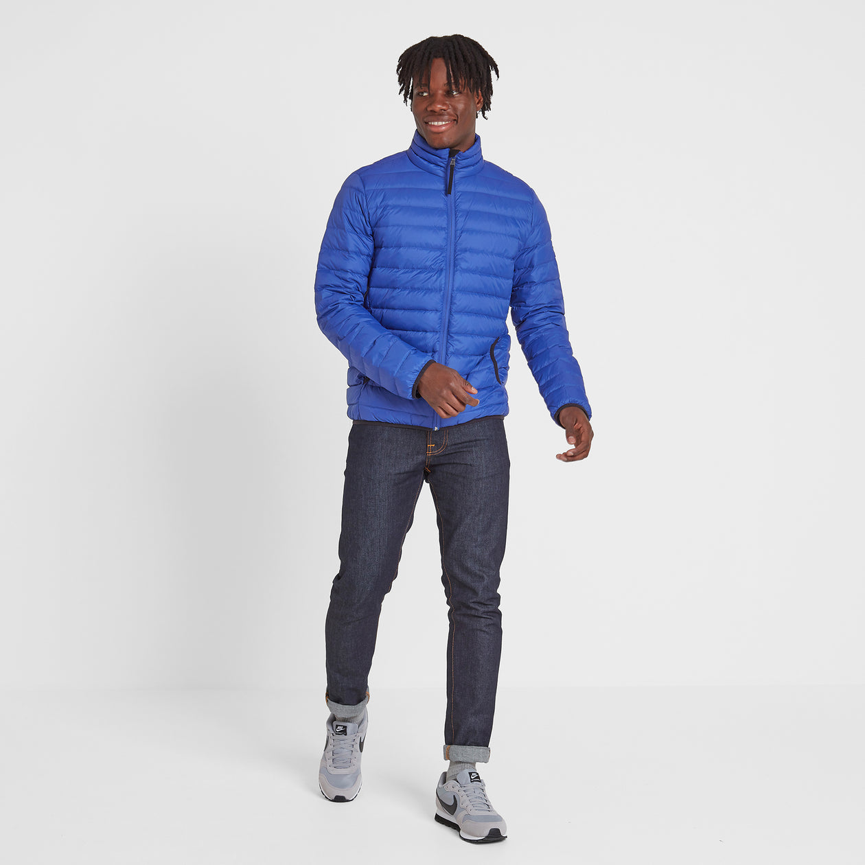 Elite Mens Down Jacket - Royal image 4