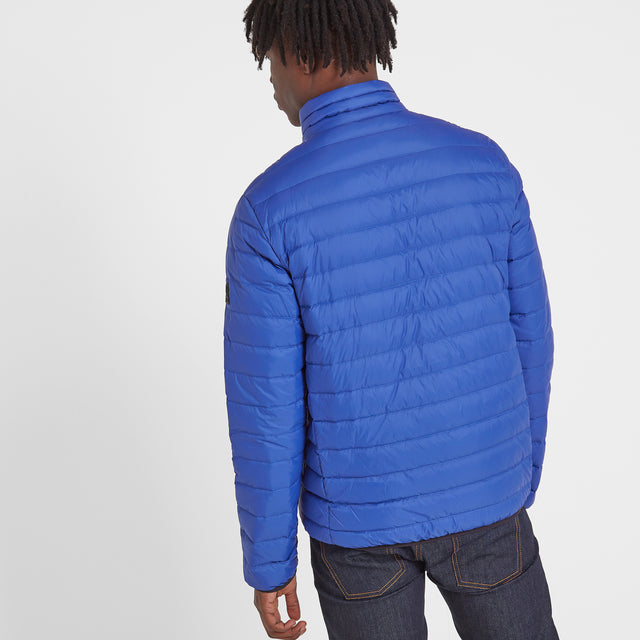 Elite Mens Down Jacket - Royal image 3