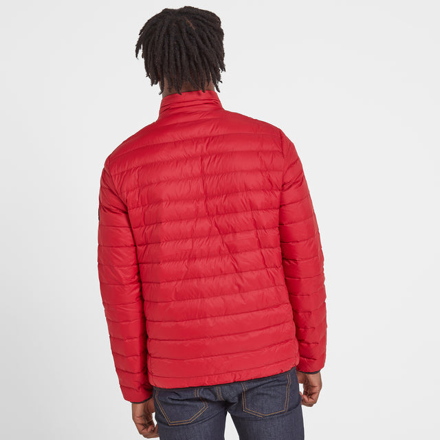 Elite Mens Down Jacket - Chilli image 3