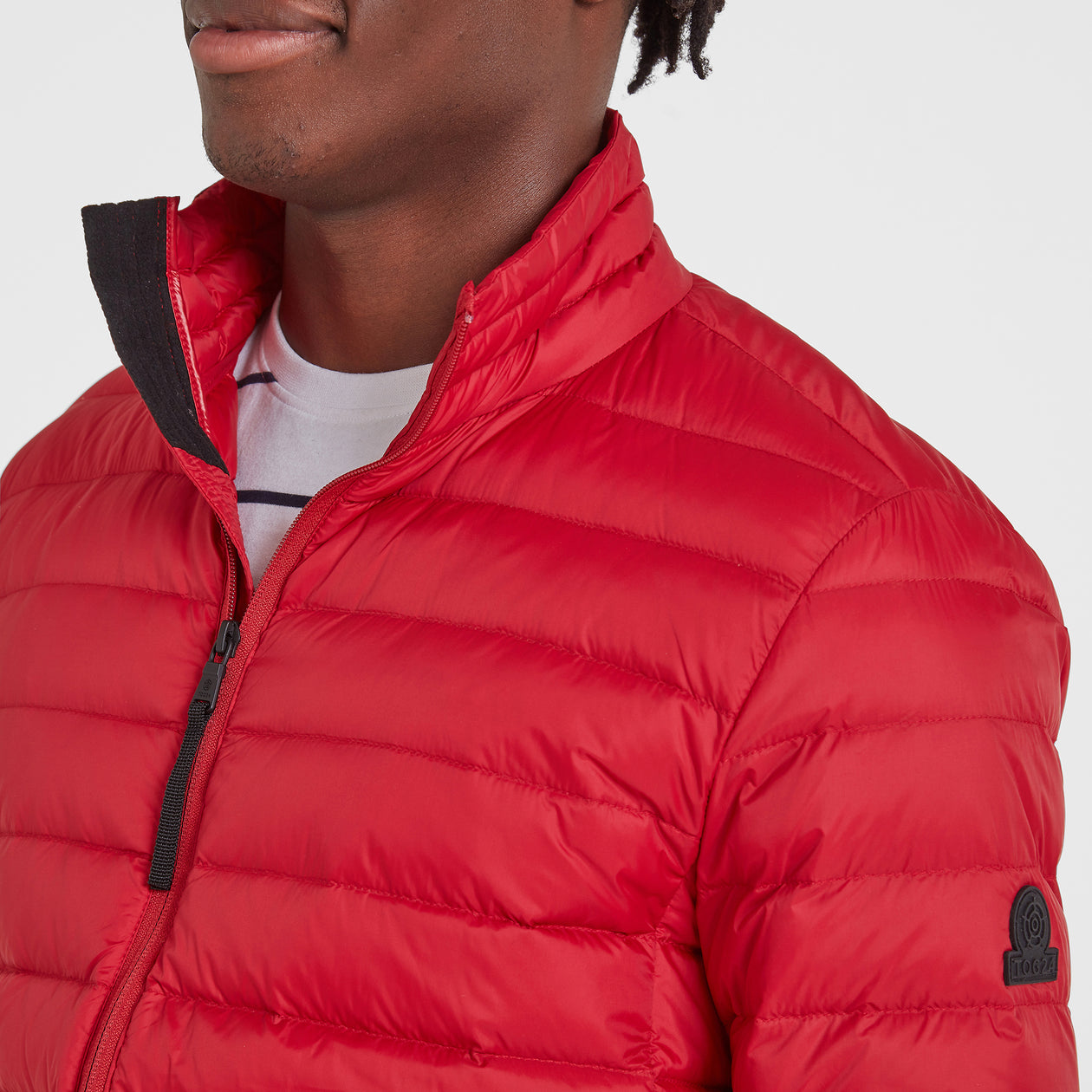 Elite Mens Down Jacket - Chilli image 4