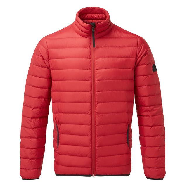 Elite Mens Down Jacket - Chilli image 6