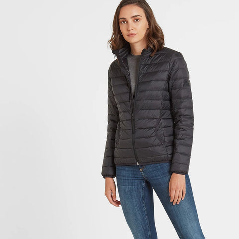 Elite Womens Down Jacket - Black