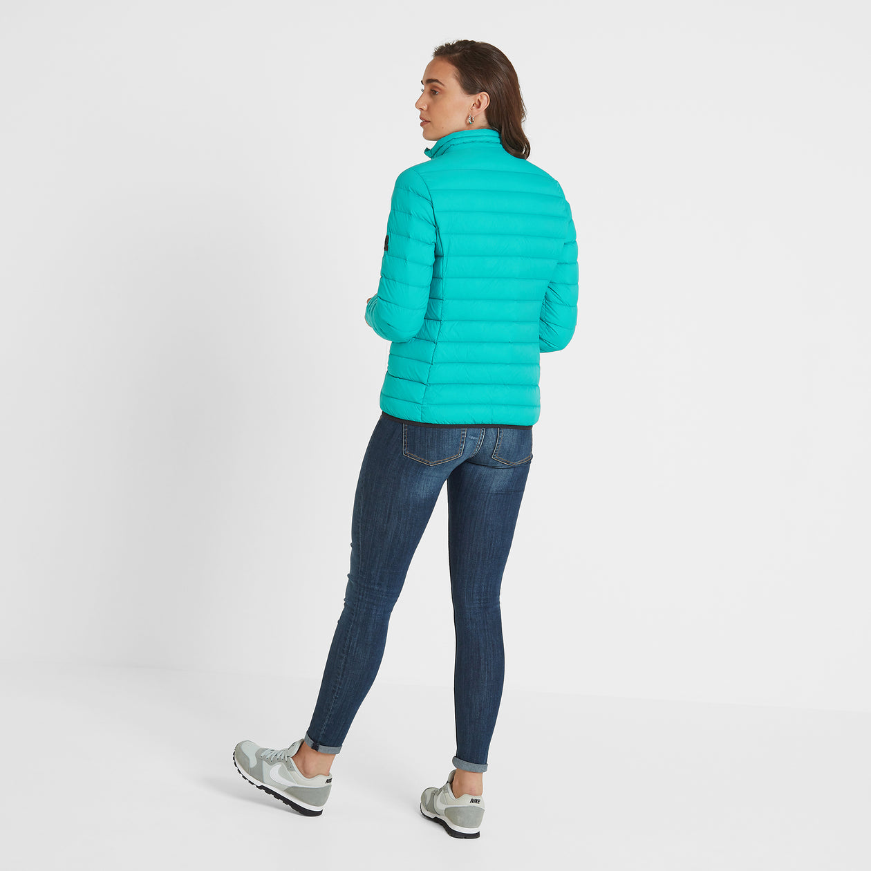 Elite Womens Down Jacket - Ceramic Blue image 4