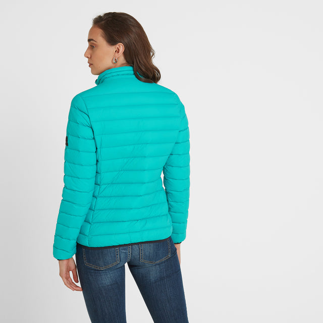 Elite Womens Down Jacket - Ceramic Blue image 2