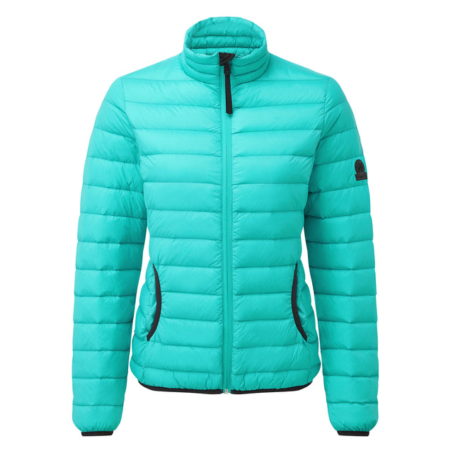 Elite Womens Down Jacket - Ceramic Blue image 6
