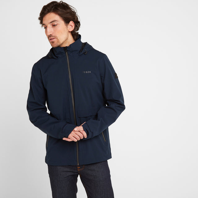 Erosion Mens Waterproof Jacket - Dark Indigo image 1
