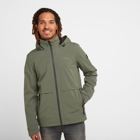 Erosion Mens Waterproof Jacket - Light Khaki