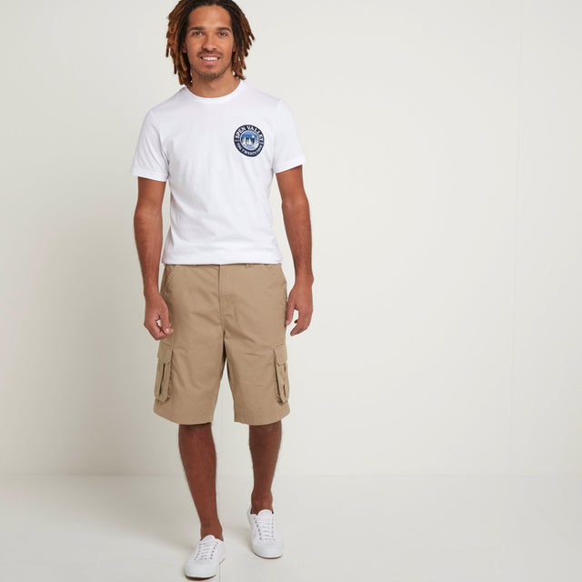 Farrow Mens Cargo Shorts - Sand image 1