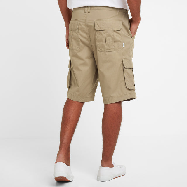 Farrow Mens Cargo Shorts - Sand image 3