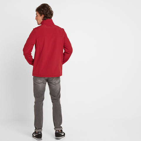 Feizor Mens Softshell Jacket - Rio Red
