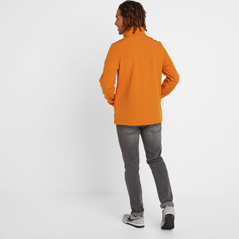 Feizor Mens Softshell Jacket - Satsuma