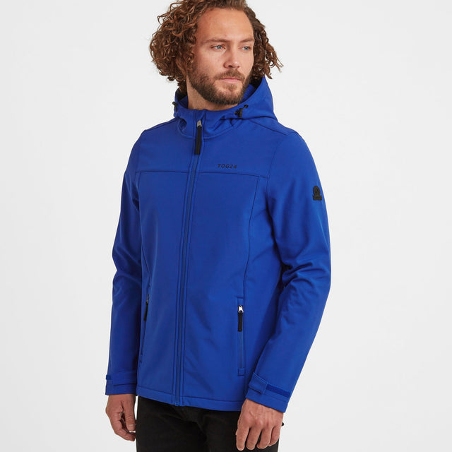 Feizor Mens Softshell Hooded Jacket - Royal image 1